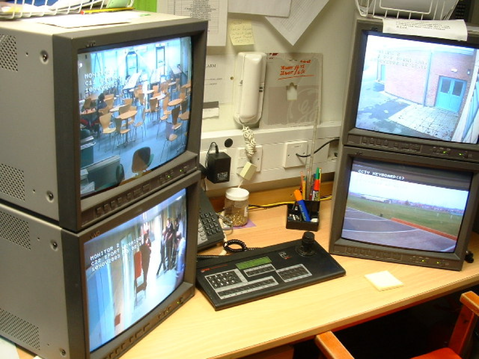 CCTV Camera Recording