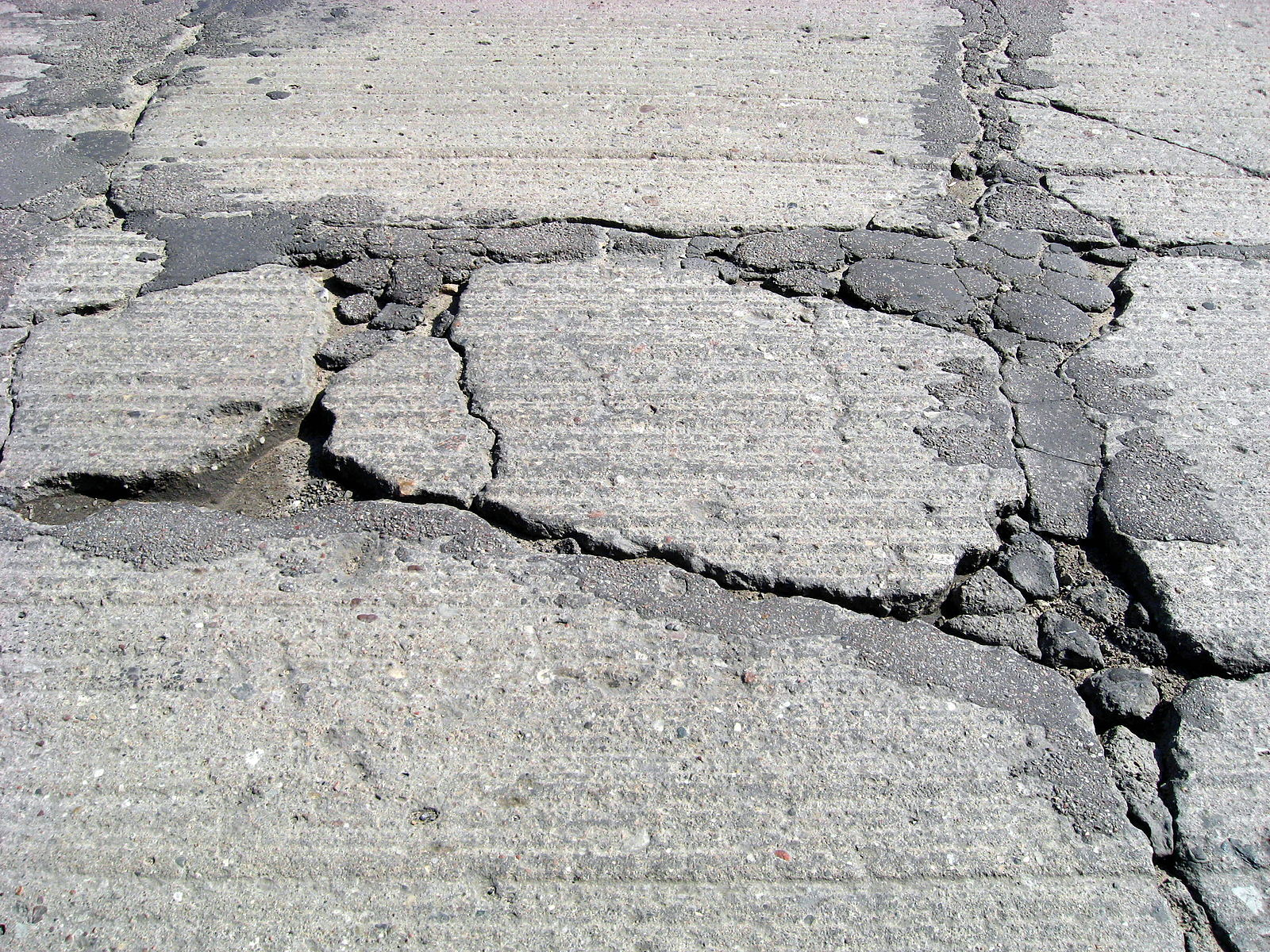Cracked Drive way