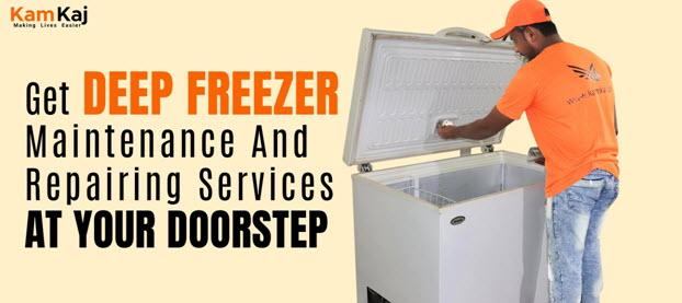 Deep Freezer Maintenance And Repairing Services At Your Doorstep